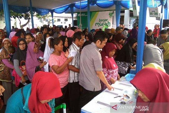 BPJS Ketenagakerjaan Purwokerto gelar pasar murah