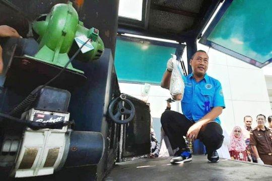 BNNP Jatim musnahkan lima kilogram sabu-sabu