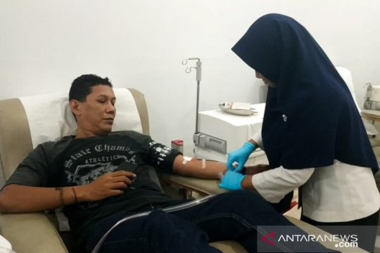 Pasokan darah PMI DKI Jakarta turun drastis selama Ramadhan
