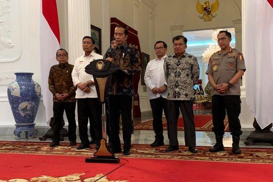 Jokowi minta segala perselisihan Pemilu diselesaikan melalui MK