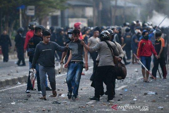 Polisi jaring 272 pelaku kericuhan selama pengamanan unjuk rasa