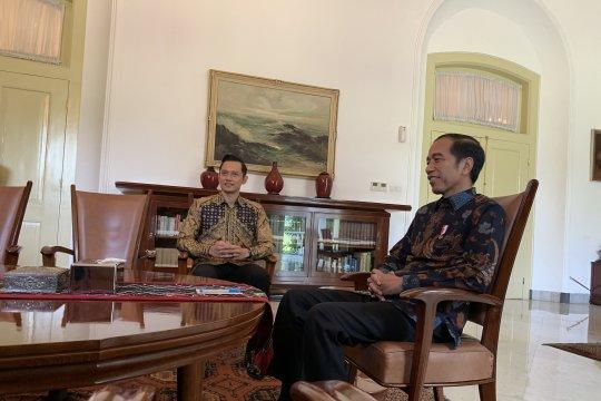 Presiden Jokowi pilih berkantor di Istana Bogor