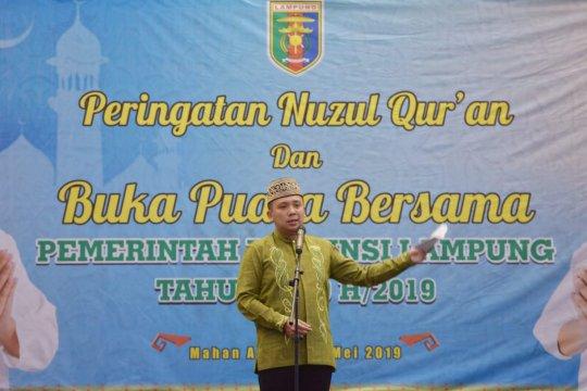 Gubernur Lampung ajak warga jalin silaturahmi dan persaudaraan