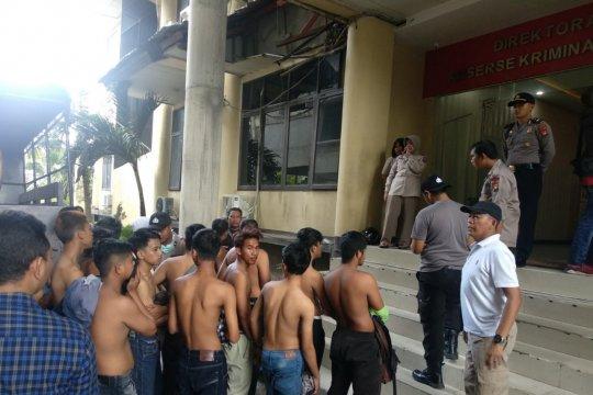 Polda Kalbar tahan 38 orang pericuh di Pontianak