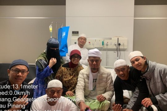 Jamaah Masjid Al Munawwar Penang kehilangan Ustadz Arifin Ilham
