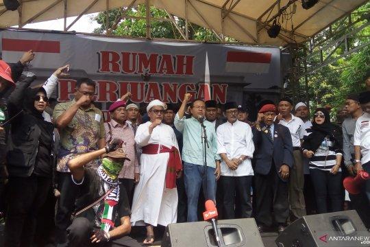 Rizal Ramli lepas peserta Aksi 22 Mei ke Bawaslu