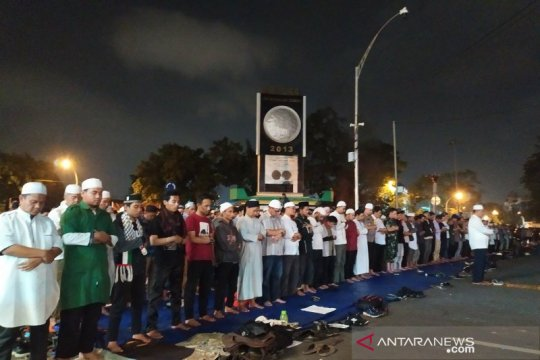 Aksi 22 Mei di Medan, dua pria bawa senpi dan sajam