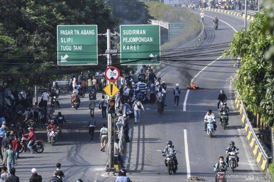 Situasi di jalan Cideng