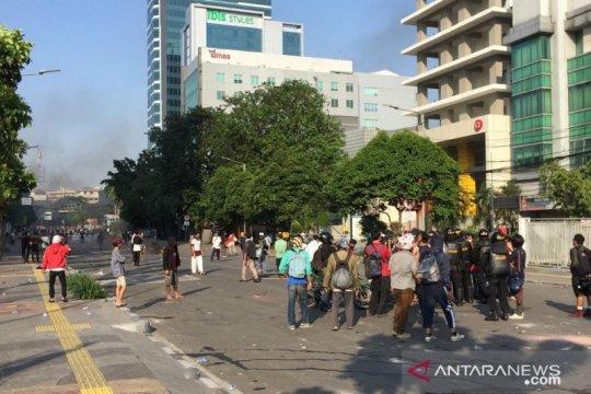 Polisi sampaikan kronologi aksi massa, 58 provokator ditangkap