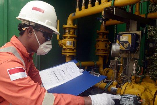 Distribusi gas jelang Lebaran
