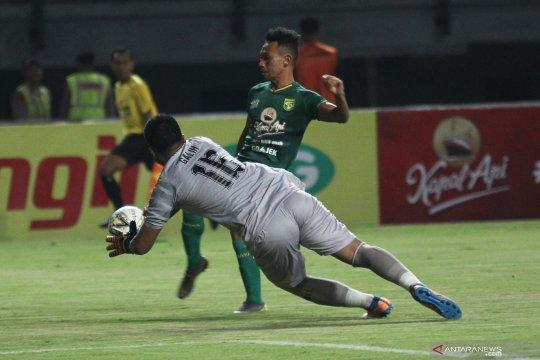Persebaya vs Kalteng Putra bermain imbang 1-1
