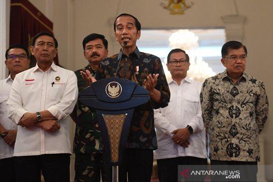 Presiden Jokowi pastikan situasi keamanan masih terkendali