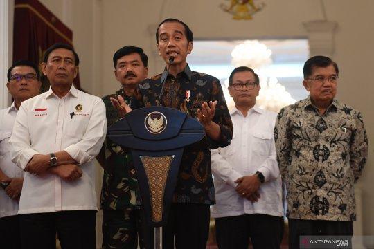 Keterangan Presiden tentang kerusuhan di Jakarta