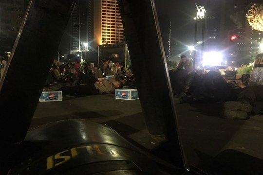 Situasi depan Bundaran Hotel Indonesia aman terkendali