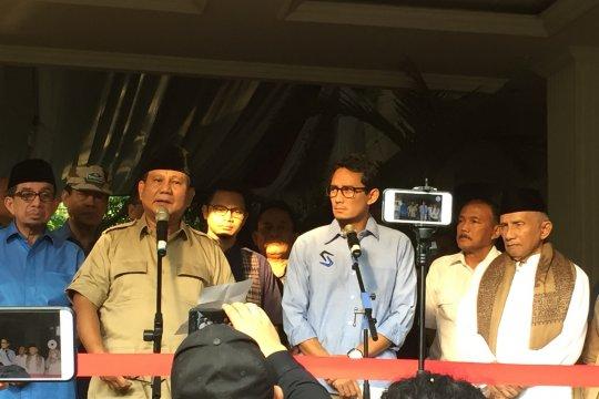 Prabowo: jangan lakukan kekerasan