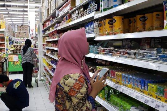 BPOM temukan 67 item pangan olahan tidak memenuhi ketentuan label.