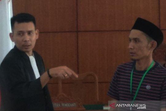 Terdakwa perkara pidana pemilu mohon dihukum ringan
