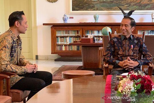 Jokowi bertemu AHY di Bogor