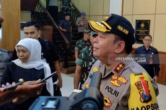 Polda Jatim siagakan 300 personel Brimob-Sabhara di Sampang