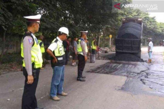Kementerian PUPR perbaiki 29 kilometer jalur mudik Bekasi