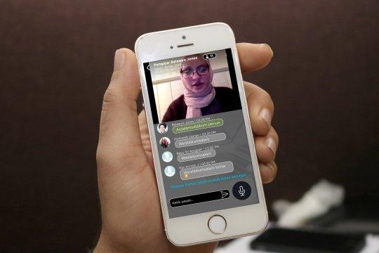 Berbagi konten Ramadhan secara live lewat platform digital