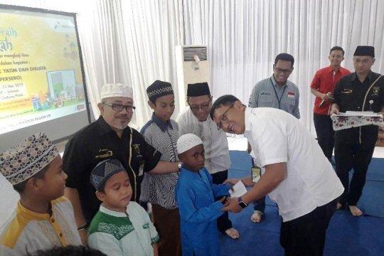 Pertamina Maluku-Papua berikan santunan bagi 393 anak yatim