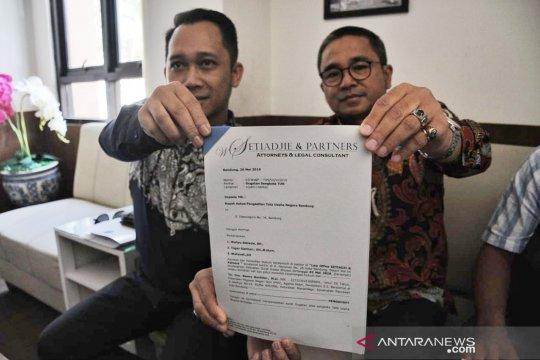 Kandidat kuat Sekda gugat Wali Kota Bandung karena melantik Ema