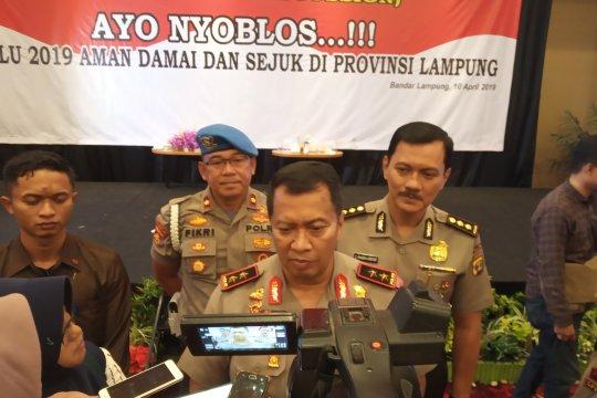 Polda Lampung terjunkan 4.000 personel amankan pemudik