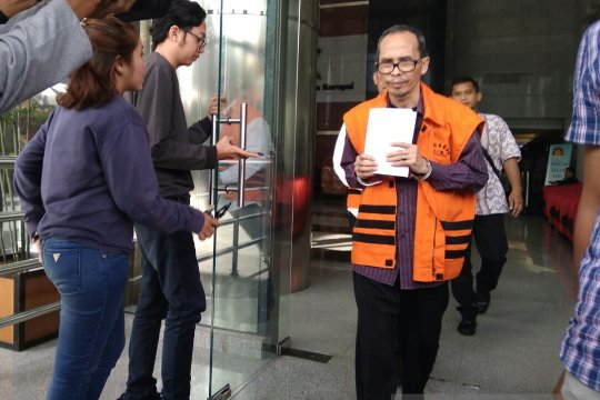 Berkas perkara tersangka jabatan Kemenag dilimpahkan ke pengadilan