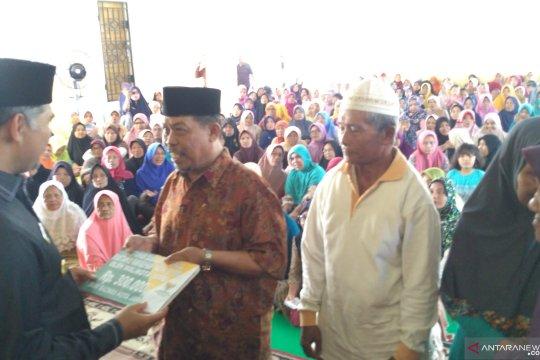 5.000 Mustahiq di Jambi terima zakat infaq dan sedekah