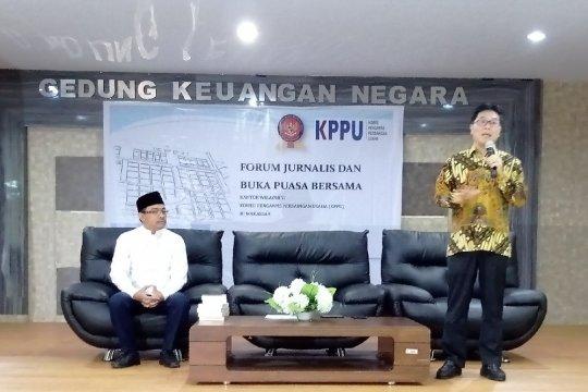 KPPU jelaskan kinerja di buka puasa dengan wartawan