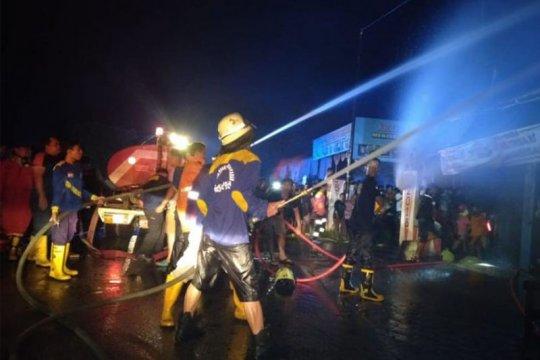 Polisi selidiki penyebab kebakaran di Palangka Raya