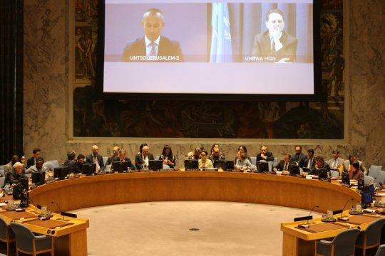 Indonesia pimpin pertemuan DK PBB tentang situasi Timur Tengah