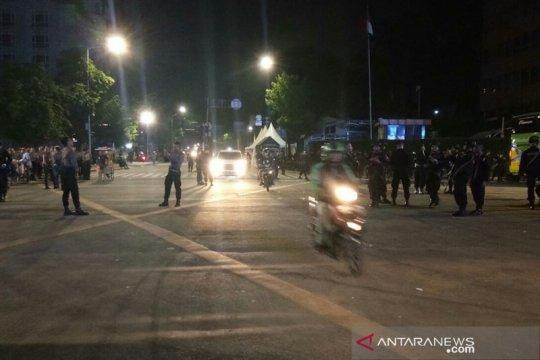 Polisi buka Jalan Wahid Hasyim, Thamrin-Bundaran HI masih ditutup