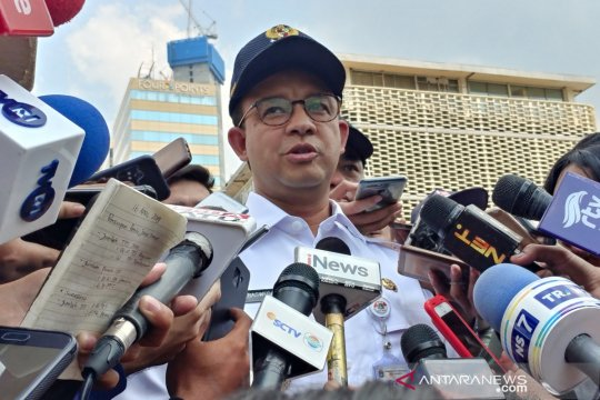 Anies jemput jenazah Ustadz Arifin Ilham di Halim Perdanakusuma