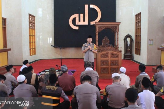 Polres Sukabumi Kota doa bersama untuk Indonesia aman