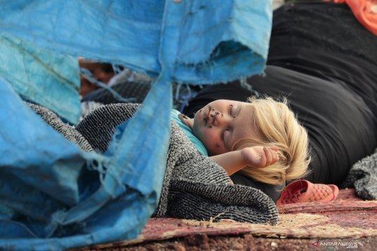 Sedikitnya 25.000 orang tinggalkan Idlib di Suriah ke Turki