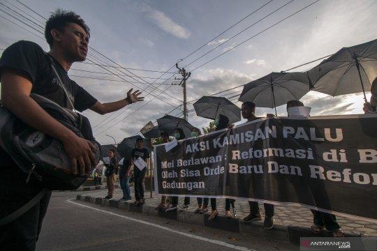 Aksi Kamisan ke-8 di Palu