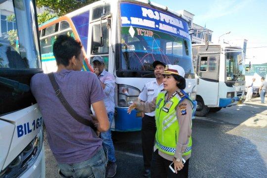 Bus tak laik jalan di Kalsel akan langsung dikandangkan