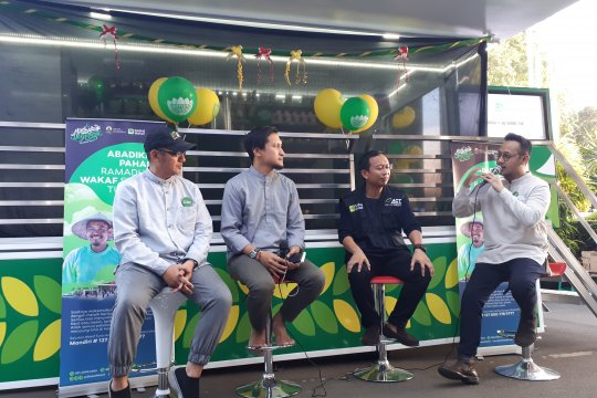 ACT luncurkan Warung Wakaf Mobile
