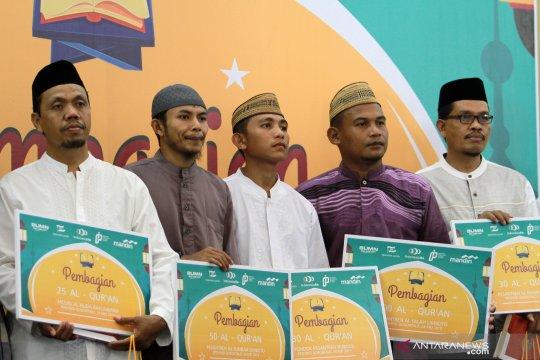 Bantuan kebutuhan pokok disalurkan Bank Mandiri Gorontalo pada ponpes