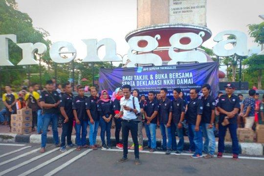 Komunitas Medsos Trenggalek kecam demo berakhir ricuh di Jakarta