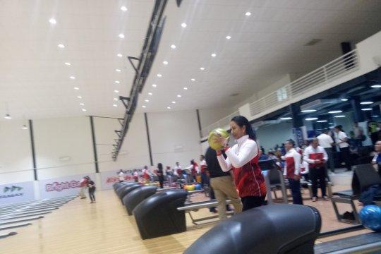 Menteri BUMN jajal arena boling Jakabaring