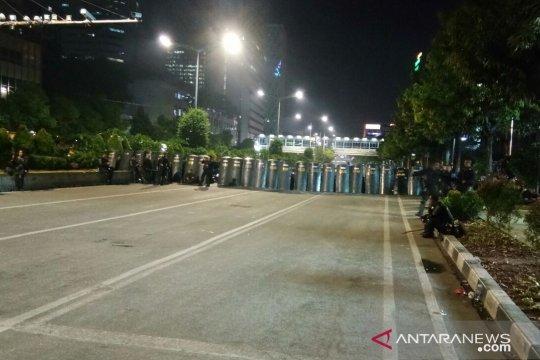 Polisi masih bersiaga di sekitar Bawaslu RI