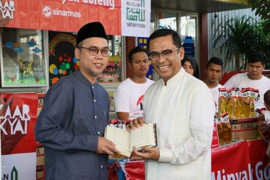 Sinar Mas wakafkan 1.000 musaf Al Quran