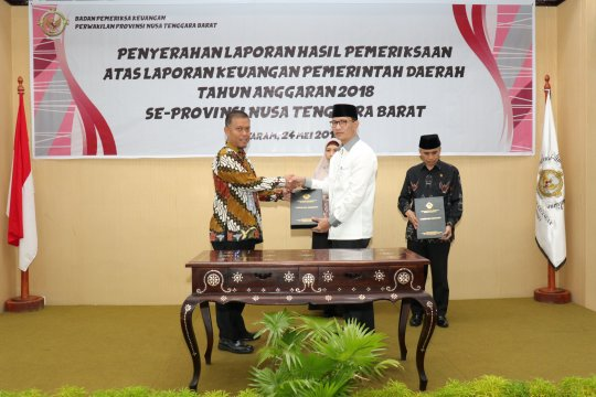 Pemkot Mataram raih predikat WTP dalam pengelolaan keuangan