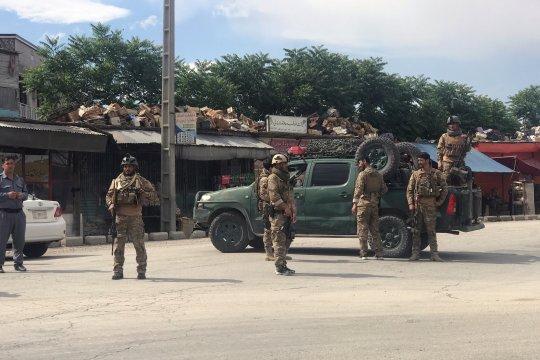 Bom guncang masjid di Afghanistan, seorang ulama tewas
