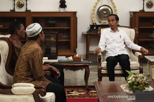 Harapan pedagang korban penjarahan usai bertemu Presiden