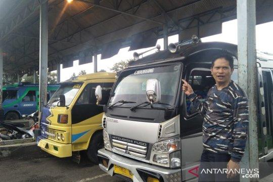 Belum terlihat peningkatan penumpang di Terminal Pasirhayam
