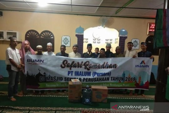 PT.Inalum Safari Ramadhan di 12 kabupaten